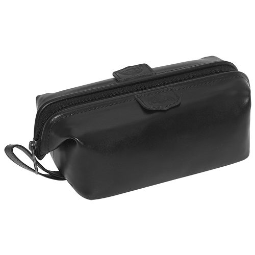 DOPP Mini Framed Leather Travel Kit