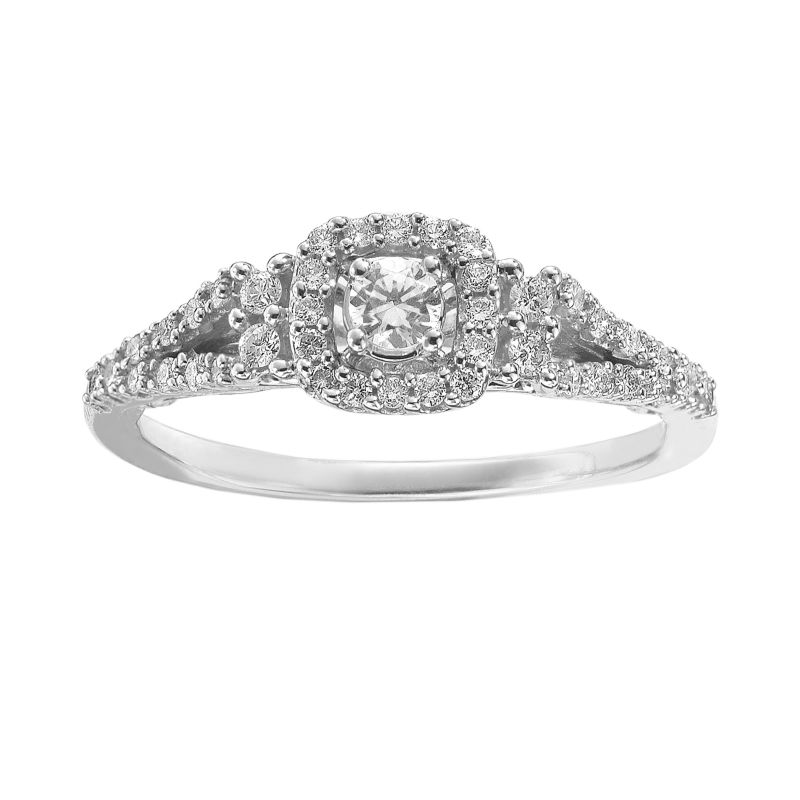 kohls wedding rings kohls 349 99 1 4 ct t w 14k white gold 5339