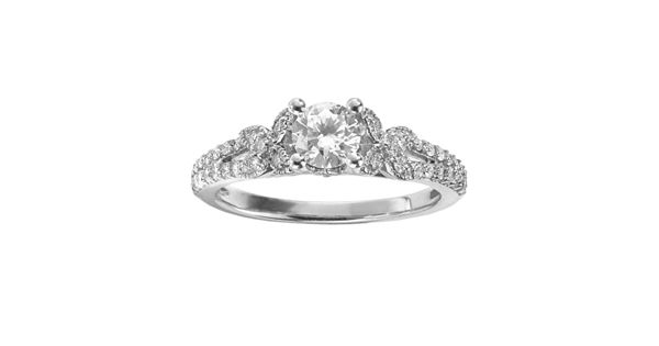Diamond Rings For Sale Kohls: Simply Vera Vera Wang Diamond Butterfly Engagement Ring In