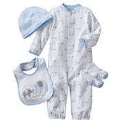 Carter's Elephant Sleeper Gown Set - Baby