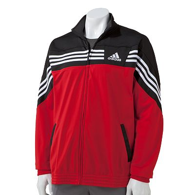 adidas Colorblock Performance Raise Up Track Jacket - Big and Tall