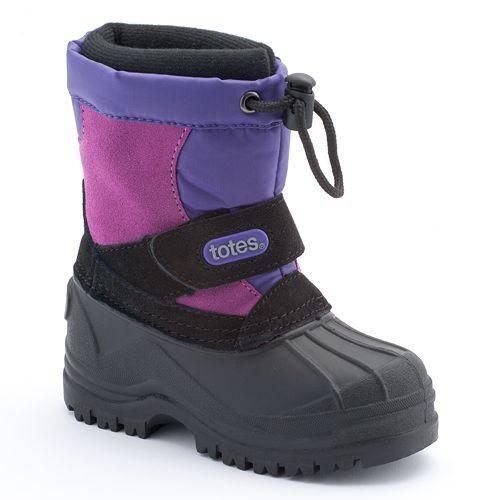 totes Tess Winter Boots - Toddler Girls
