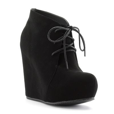ELLE Wedge Booties - Women