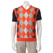 Grand Slam V-Neck Argyle Sweater Vest