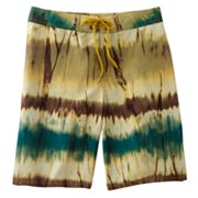 Beach Rays Abstract Board Shorts