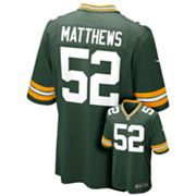 Nike Green Bay Packers Clay Matthews NFL Jersey - Boys 8-20