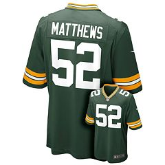 57ab0a080 Boys 8-20 Nike Green Bay Packers Clay Matthews NFL Jersey