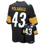 Nike Pittsburgh Steelers Troy Polamalu NFL Jersey - Boys 8-20