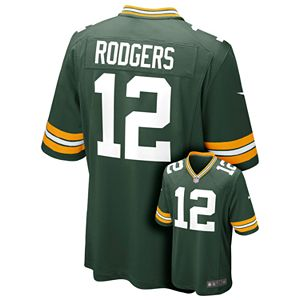 Discount Men's Nike Green Bay Packers Aaron Rodgers Game NFL Replica Jersey  for sale