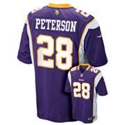 Nike Minnesota Vikings Adrian Peterson Jersey - Boys 8-20