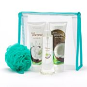 Scentsations Fresh Coconut Shower Gel, Body Lotion and Body Mist Gift Set