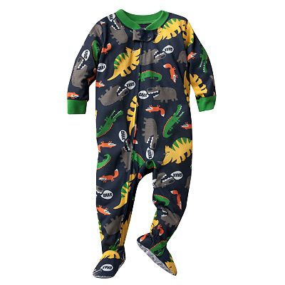Carter's Animal Footed Pajamas - Toddler
