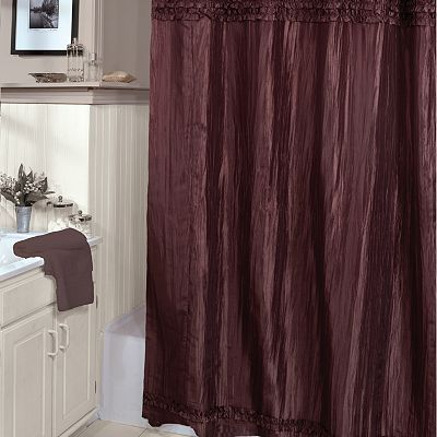 Veratex Charlotte Fabric Shower Curtain