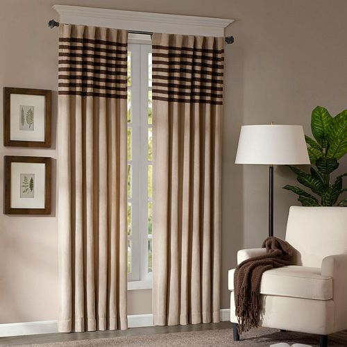 "Madison Park 2-pack Dune Window Curtains - 42"" x 84"""