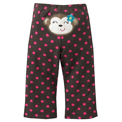 Jumping Beans Printed Knit Pants - Baby