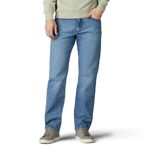 LEE Mens Modern Lose Fit Straight Leg Jean