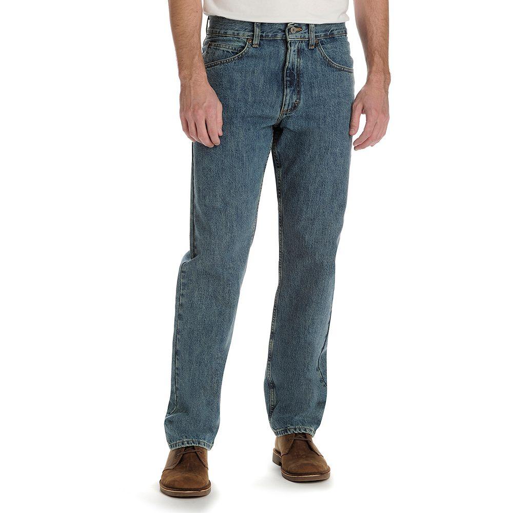Lee Regular Fit Straight Leg Jeans