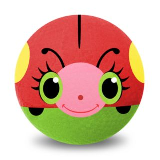 Melissa and Doug Bollie Ladybug 8.5-in. Rubber Kickball