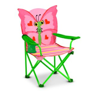 Melissa and Doug Bella Butterfly Folding Chair