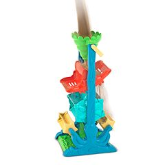 Melissa & Doug Seaside Sidekicks Funnel Fun Tower