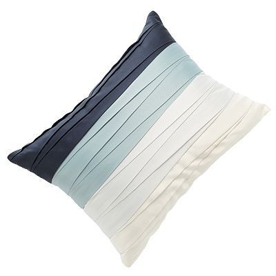 Jennifer Lopez bedding collection Manor Pleated Decorative Pillow