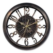 Chaney Antiqued Wall Clock