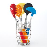 Fiesta 6 pc Multicolor Utensil Set