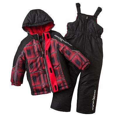 ZeroXposur Wild Cat Jacket and Snowpants Set - Boys 4-7