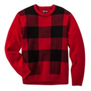 Chaps Plaid Sweater