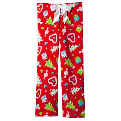 SO Holiday Fleece Lounge Pants - Girls 7-16