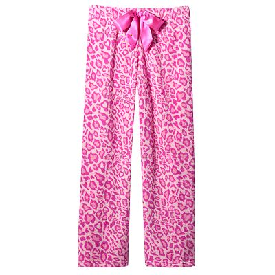SO Leopard Fleece Lounge Pants - Girls 7-16