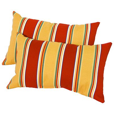 Fiesta Striped 2-pk. Outdoor Decorative Pillows