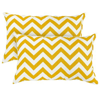 Zigzag 2-pk. Outdoor Decorative Pillows