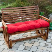 Solid Outdoor Bench Cushion