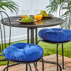 Greendale Home Fashions Solid 2-pk. Outdoor Round Chair Cushions - 15'