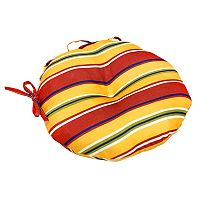 Greendale Home Fashions Solid 2-pk. Outdoor Round Chair Cushions - 15