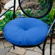 Solid 2-pk. Outdoor Round Chair Cushions - 18""