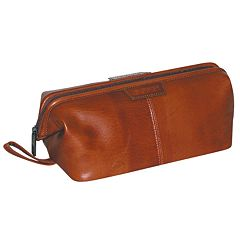 DOPP Veneto Traditional Framed Leather Travel Kit