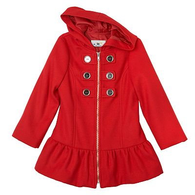 IZ Amy Byer Ruffled Jacket - Girls 4-6x