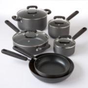 Kitchen a la carte 10-pc. Nonstick Hard-Anodized Cookware Set