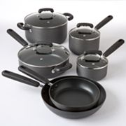Kitchen a la carte 10-pc. Hard-Anodized Cookware Set