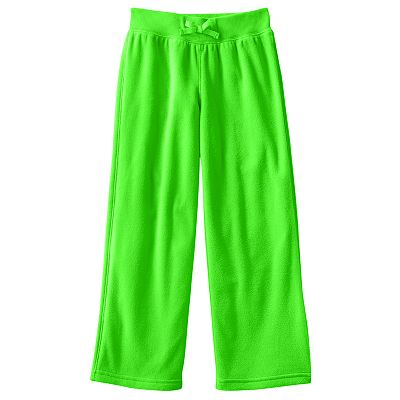 Jumping Beans Solid Microfleece Pants - Girls 4-7