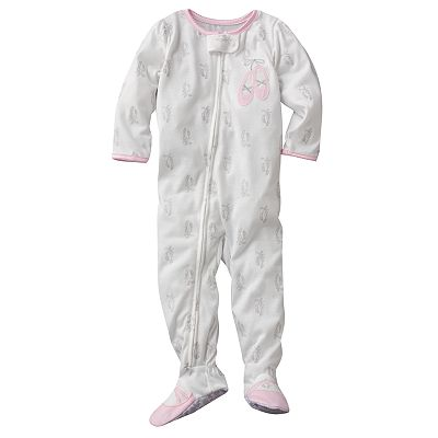 Carter's Ballet Slipper Footed Pajamas - Toddler