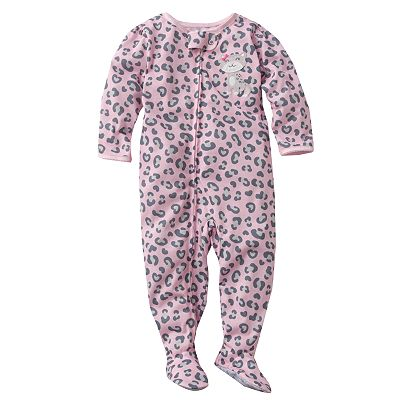 Carter's Cheetah Footed Pajamas - Toddler