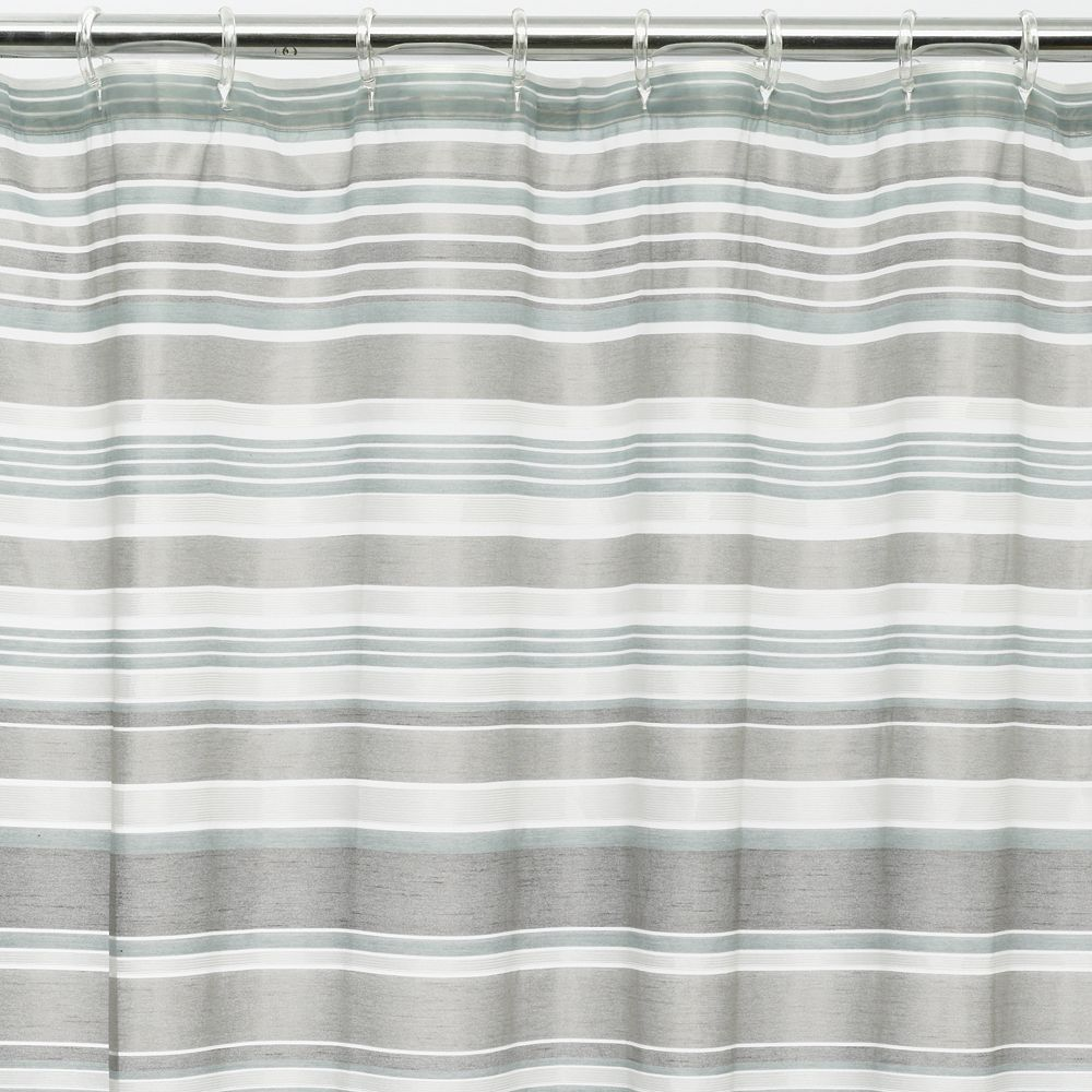 Classics® Glacier Fabric Shower Curtain