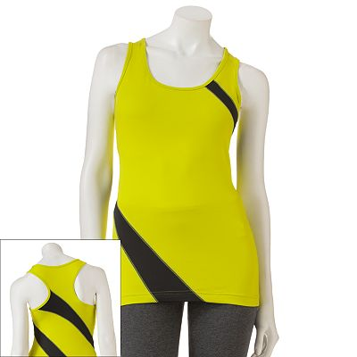 Tek Gear Colorblock Racerback Performance Tank