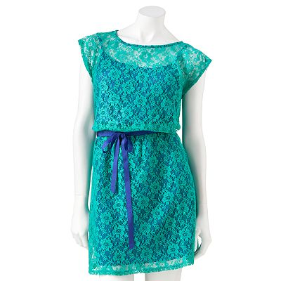 Speechless Lace Dress - Juniors