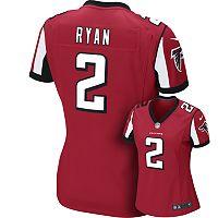 Women's Nike Atlanta Falcons Matt Ryan NFL Jersey