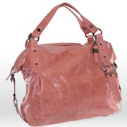 B-Collective by Buxton Distressed Leather Tote