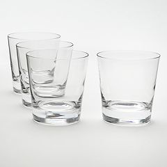 Food Network™ Stir 4 pc Crystal Double Old-Fashioned Glass Set